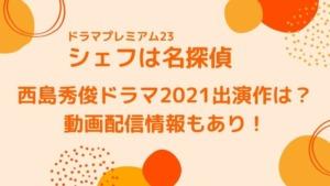 西島秀俊ドラマ2021出演作は?動画配信情報もあり!
